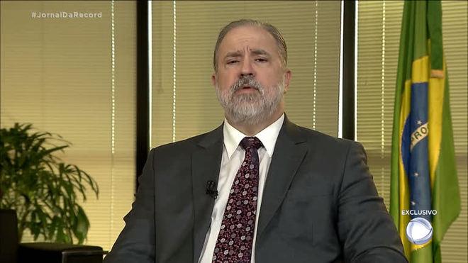 Exclusivo: Augusto Aras diz que quer levar o modelo da Lava Jato para os estados
