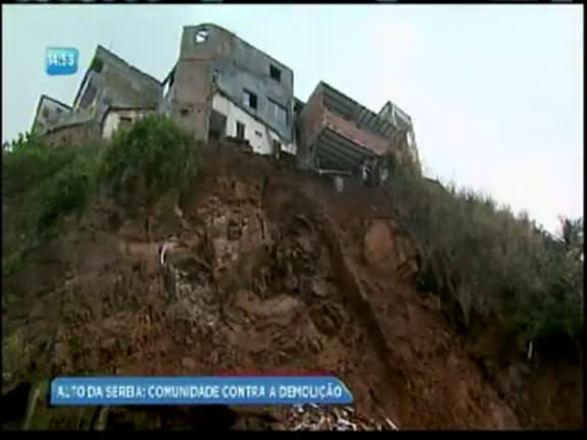 Defesa Civil condena casas e moradores não têm para onde ir