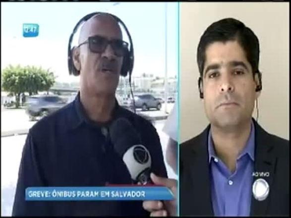 Parte II: ACM Neto fala à Record TV Itapoan sobre greve de ônibus
