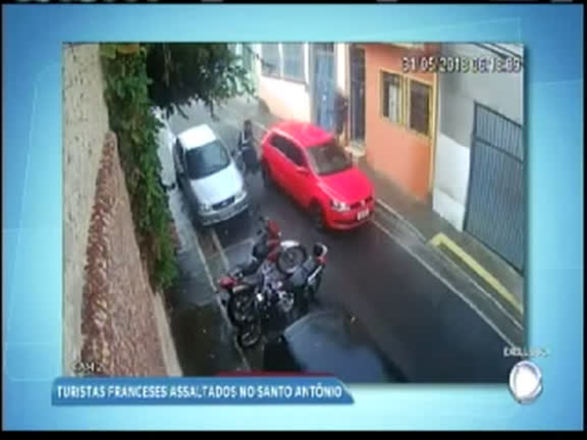 Turistas franceses são assaltados em Salvador; assista
