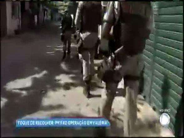 PM faz operação no bairro de Valéria após boatos de toque de recolher
