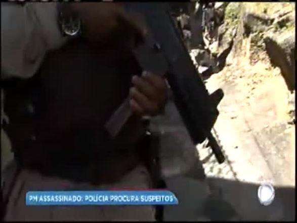 Operação da polícia procura suspeitos de matar PM em Salvador; assista