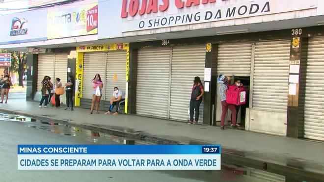 Governo de Minas pede recuo para cidades da região Central
