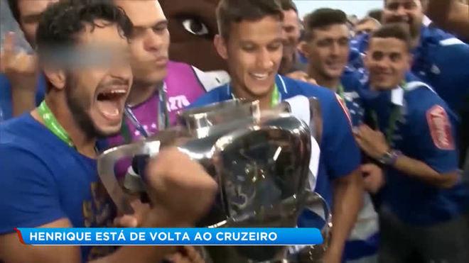 Esporte: Henrique está de volta ao Cruzeiro
