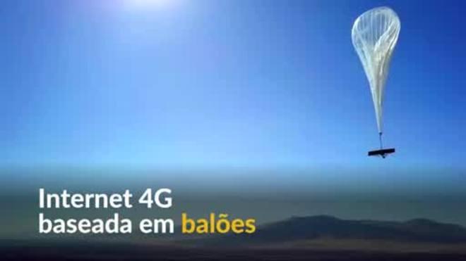 Serviço de internet baseado em balões é lançado no Quênia