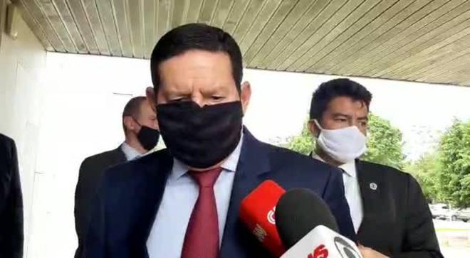 'Não existe racismo no Brasil', diz Mourão sobre assassinato no RS