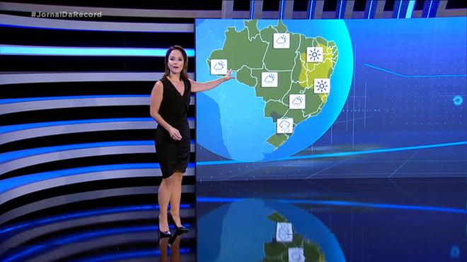 Veja a previsão do tempo para a quarta-feira (6) em todo o Brasil