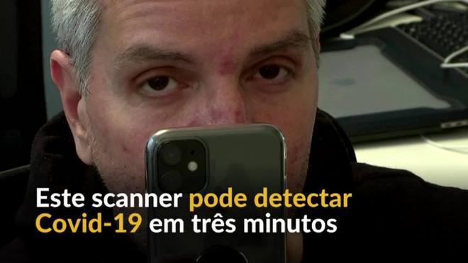 O app que pode detectar a covid-19 ao escanear o olho