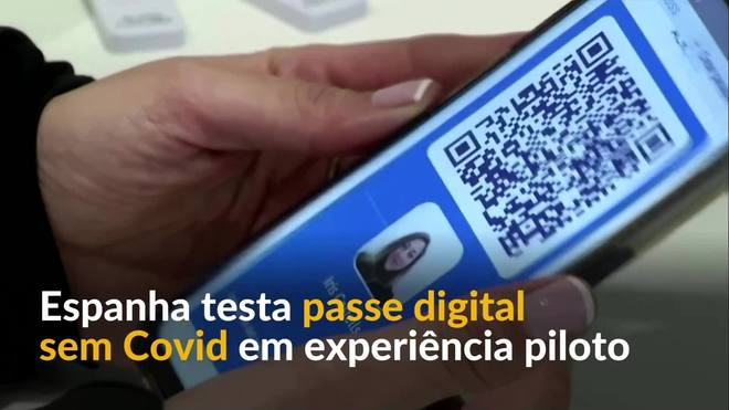 Espanha testa passe digital anti-covid para incentivar vida noturna