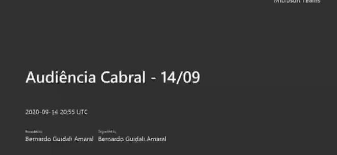 Cabral acusa Toffoli de venda de sentenças quando atuava no TSE