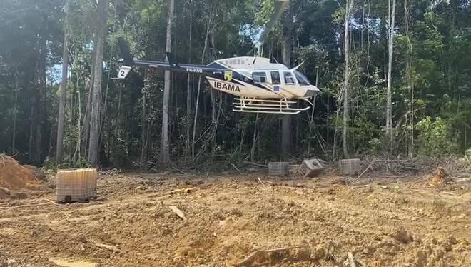 Ibama, Força Nacional e PRF ajudaram na operação da PF no Pará