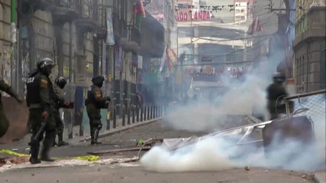 Bolívia prende 5 por corrupção em compra de gás lacrimogêneo