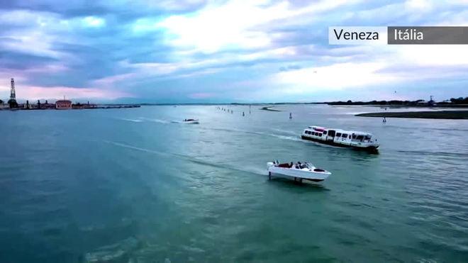 Barcos 'voadores' podem salvar patrimônio de Veneza da erosão