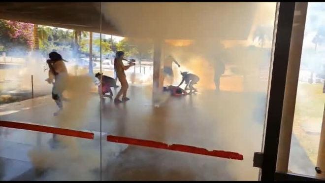 Indígena fica ferido em confronto com PM em Brasília