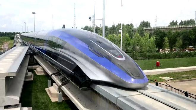 China apresenta trem maglev que pode alcançar 600 km/h