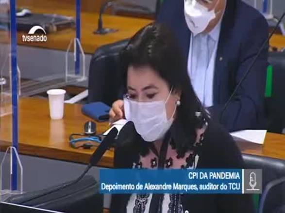 CPI da Covid: Tebet diz que documento é 'digital' de crimes