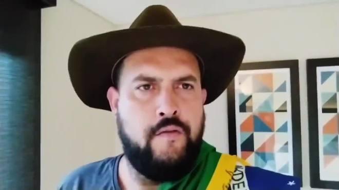 Zé Trovão convoca caminhoneiros a fecharem as estradas