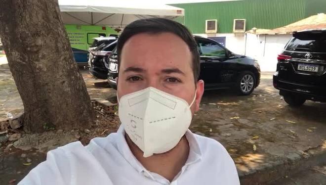 Milton Ribeiro e Rodrigo Pacheco cumprem agenda em Goiânia