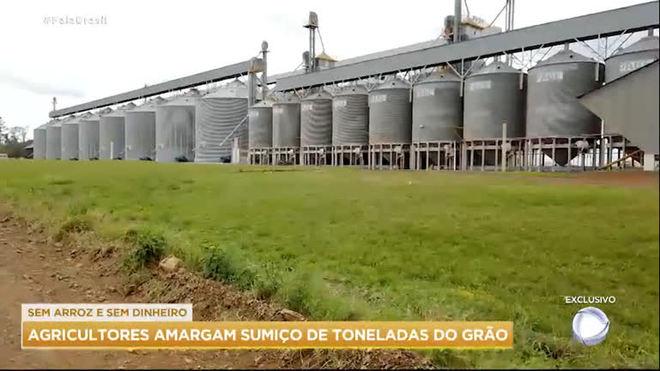 Agricultores amargam sumiço de toneladas do grão