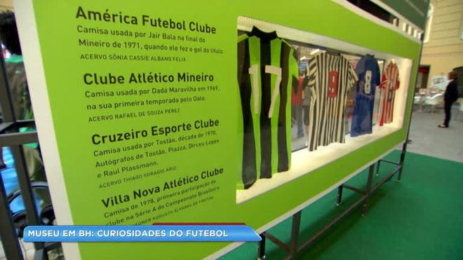 Exposição sobre a história do futebol é atração em BH