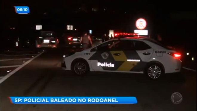 Policial é baleado no Rodoanel (SP)