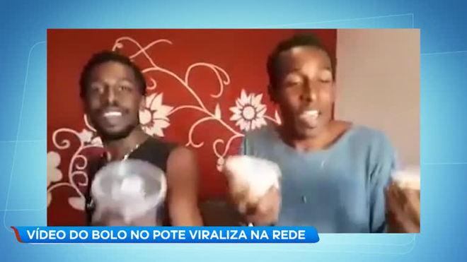 Vídeo do bolo no pote faz sucesso na rede