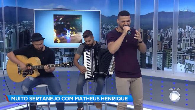 Muito sertanejo com Matheus Henrique