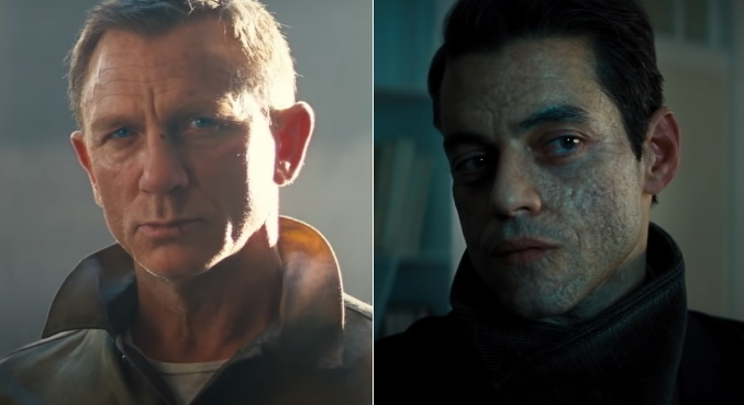 Daniel Craig e Rami Malek vão se enfrentar em '007 — Sem Tempo Para Morrer'