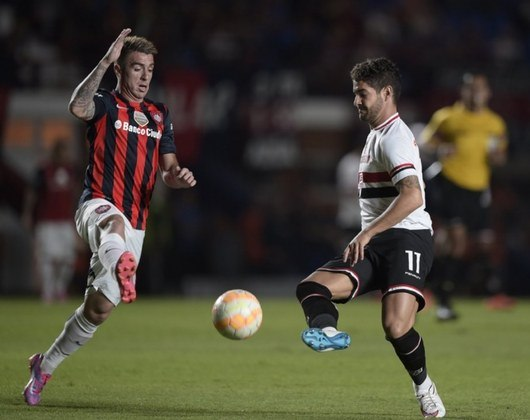 01/04/2015 – San Lorenzo 1×0 São Paulo (Libertadores 2015) - Martin Cauteruccio fez o gol da vitória dos argentinos sobre o Tricolor.