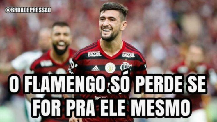 01/09/2019 - Flamengo 3 x 0 Palmeiras - 17ª rodada do Brasileirão