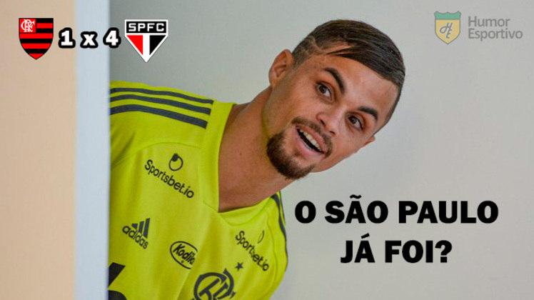 01/11/2020 - De virada, o Flamengo foi derrotado por 4 a 1 pelo São Paulo e perdeu a chance de assumir a liderança do Brasileirão