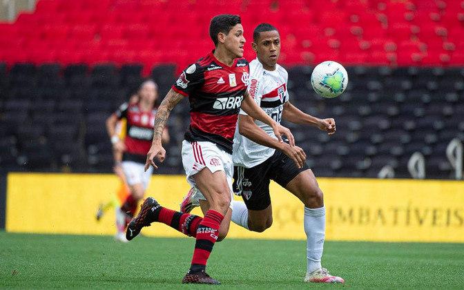 01/11/2020 - Flamengo 1 x 4 São Paulo (Maracanã) - Campeonato Brasileiro
