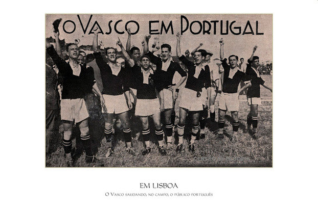 02/08/1931 - Sporting-POR 1x4 Vasco - Gols do Vasco: Nilo (2), Carvalho Leite e Ghizone