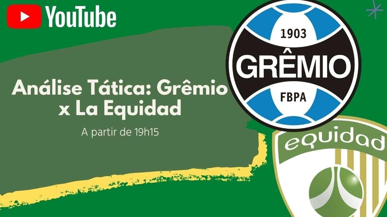 Acompanhe a análise pós-jogo de Grêmio x La Equidad