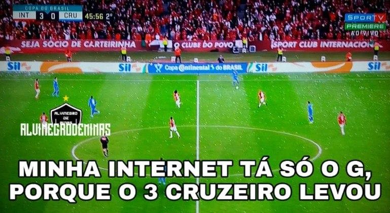 04.09.19 - Na partida de volta pela Copa do Brasil, nova derrota: 3 a 0 para o Internacional e mais uma eliminação do Cruzeiro.