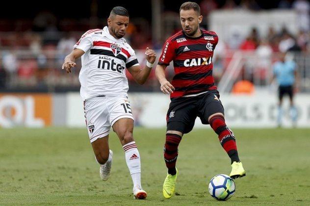 04/11/2018 - São Paulo 2 x 2 Flamengo (Morumbi) - Campeonato Brasileiro
