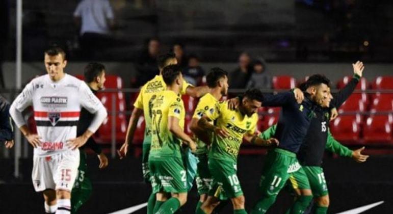 05/04/2017 – Defensa y Justicia 0x0 São Paulo (Copa Sul-Americana) - Empate sem gols na Argentina, pela primeira fase da competição. Na volta, derrota do São Paulo e eliminação supreendente.