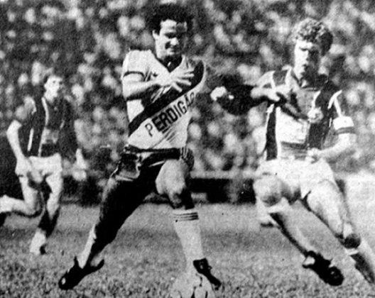 05/06/1983 - Vasco 4x1 Udinese-ITA - Gols do Vasco: Marquinho Carioca (foto) (2), Jussiê e Galvão