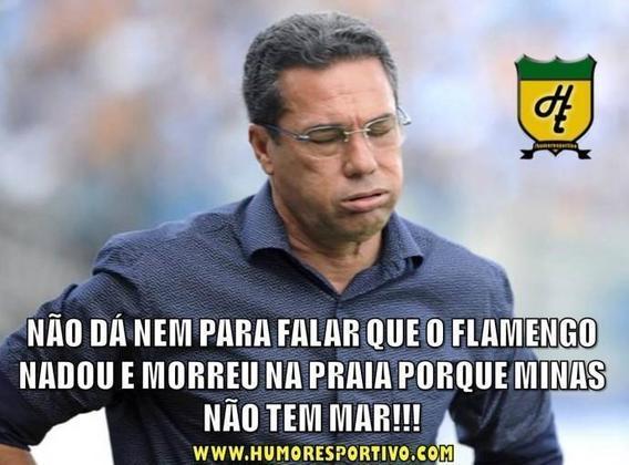 05/11/2014 - Apesar de ter vencido a primeira partida por 2 a 0, o Flamengo foi eliminado na semifinal da Copa do Brasil pelo Atlético-MG após a derrota por 4 a 1 no jogo de volta.