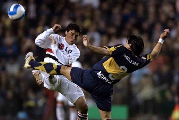 07/06/2006– Boca Juniors 2×1 São Paulo (Recopa Sul-Americana 2006) - No jogo de ida da final da Recopa Sul-Americana, Thiago Ribeiro abriu o marcador, mas Palacio, duas vezes, virou.