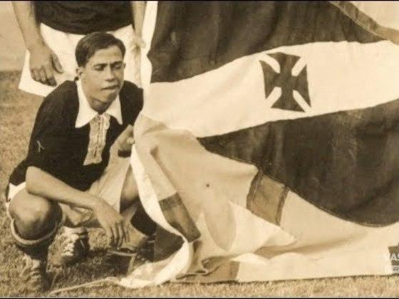 07/07/1931 - Celta-ESP 1x7 Vasco - Gols do Vasco: Bahianinho (foto) (3), Nilo (2), Russinho e Mário Mattos