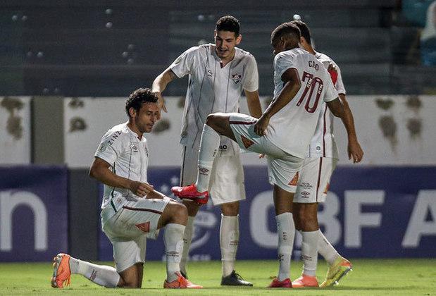 07/10/2020 - O segundo gol da temporada passada saiu diante do Goiás. O Flu saiu atrás no placar, mas o atacante garantiu a primeira virada. No fim, vitória por 4 a 2 fora de casa.