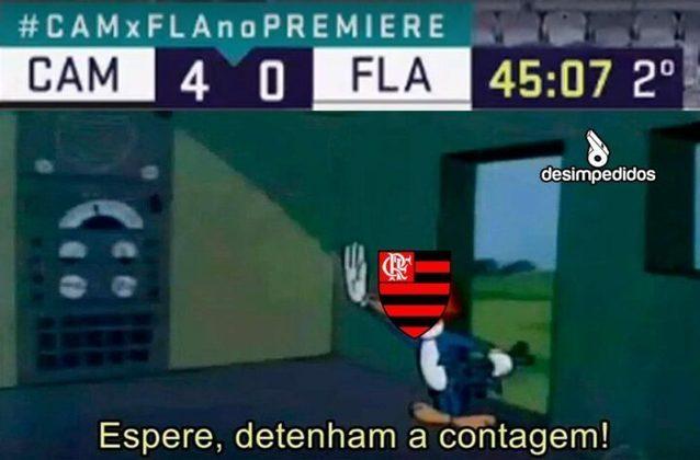 08/11/2020 - A derrota por 4 a 0 para o Atlético-MG fez com que o Flamengo perdesse a oportunidade de assumir a liderança do Brasileirão 2020.