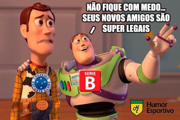 08.12.19 - Cruzeiro perde para o Palmeiras e é rebaixado para Série B,
