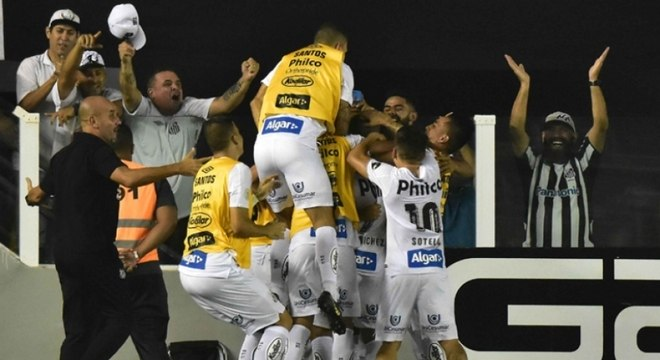 09/06/2019 - Santos x Atlético-MG - Brasileirão (F)