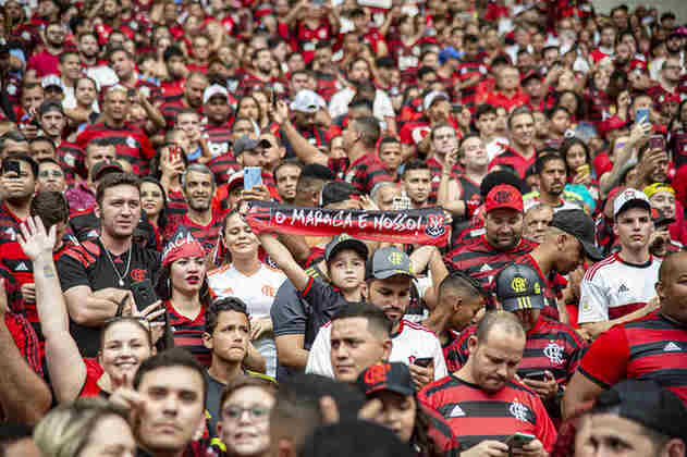 1º) 1 milhão – Flamengo