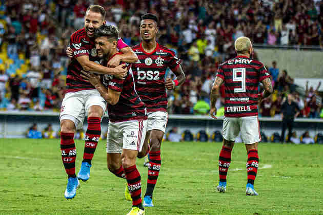1º - 65.649 pagantes - Flamengo 1 x 0 CSA - Brasileirode 2019 (Maracanã) - Renda: R$ 3.735.850.