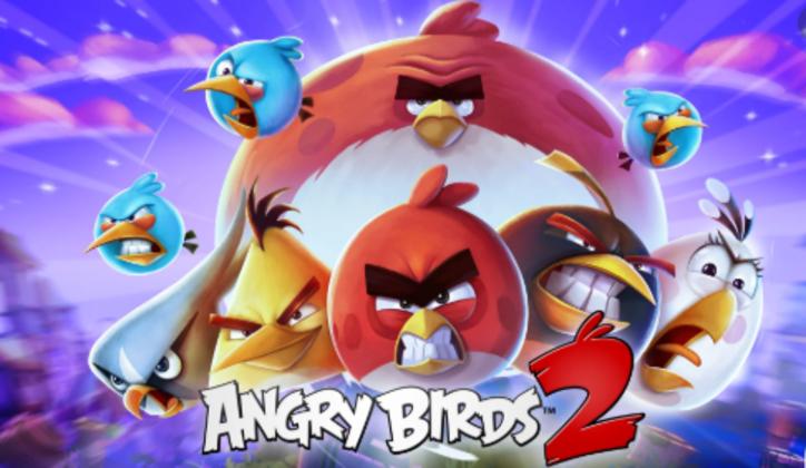 """1 – Angry Birds 2: """"O game busca revitalizar a fórmula de arremessar pássaros com diferentes poderes contra as fortalezas dos vilões suínos. Para isso, o título oferece algumas novidades, como a possibilidade de escolher a ordem das aves arremessadas, diferentes níveis em uma única fase e novos poderes para enfrentar os oponentes."""""""
