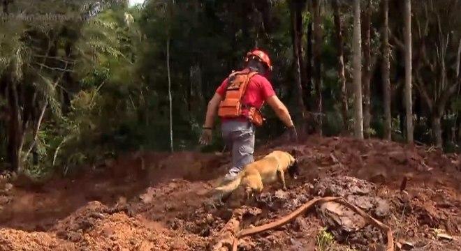 Buscas pelos desaparecidos foram suspensas pelo Governo de Minas