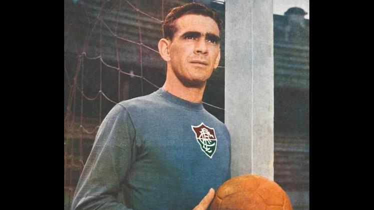 1 - Castilho (1947 - 1965) - 697 jogos com a camisa do Fluminense.